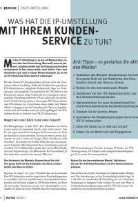 IP Umstellung Kundenservice