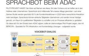 Sprachbot beim ADAC